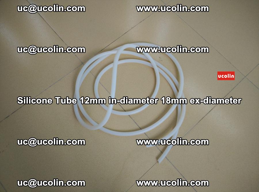 Silicone Tube for vacuuming EVA PVB SGP laminated glass glazing (29)