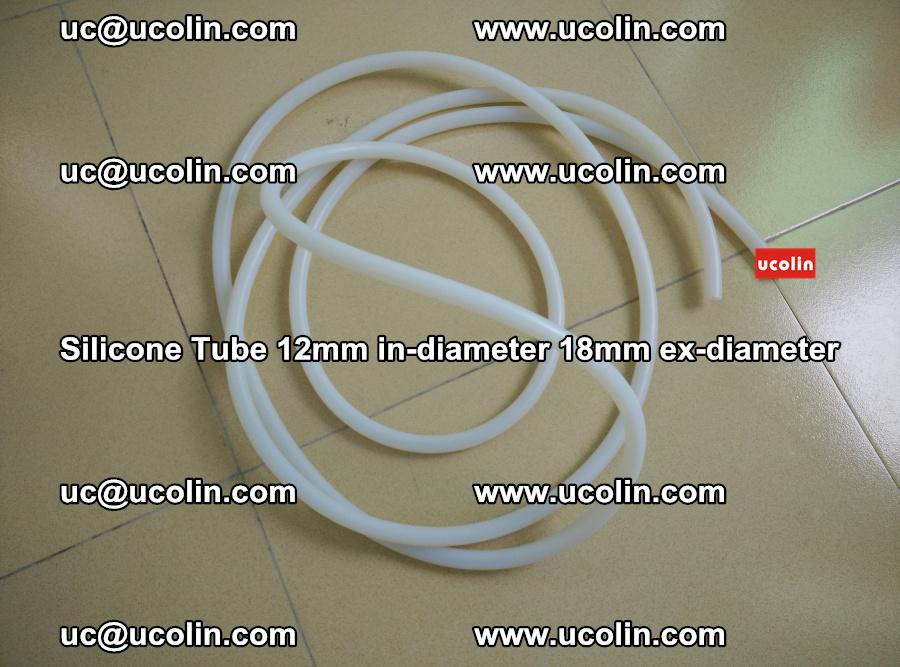 Silicone Tube for vacuuming EVA PVB SGP laminated glass glazing (34)