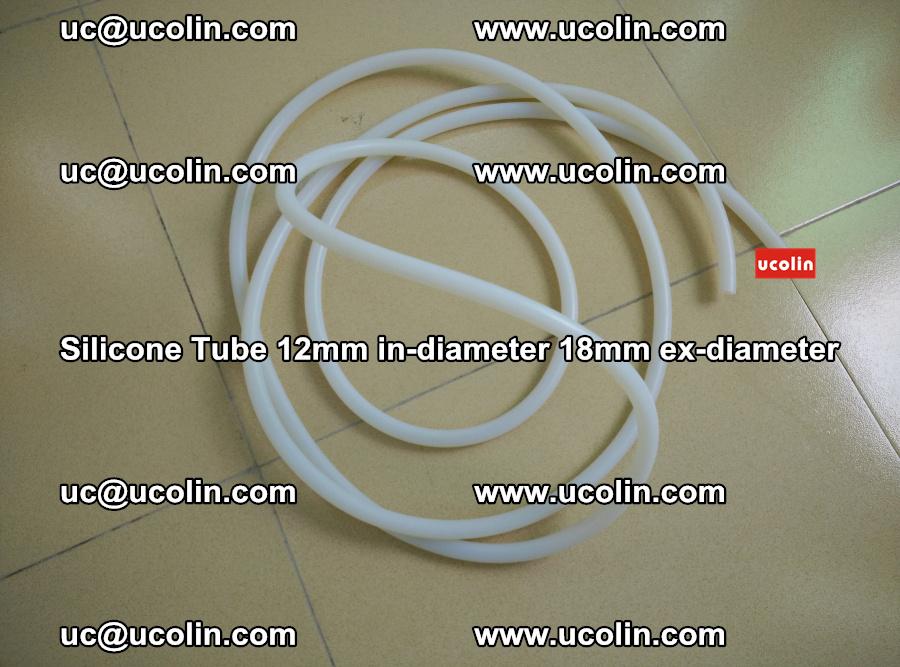 Silicone Tube for vacuuming EVA PVB SGP laminated glass glazing (38)