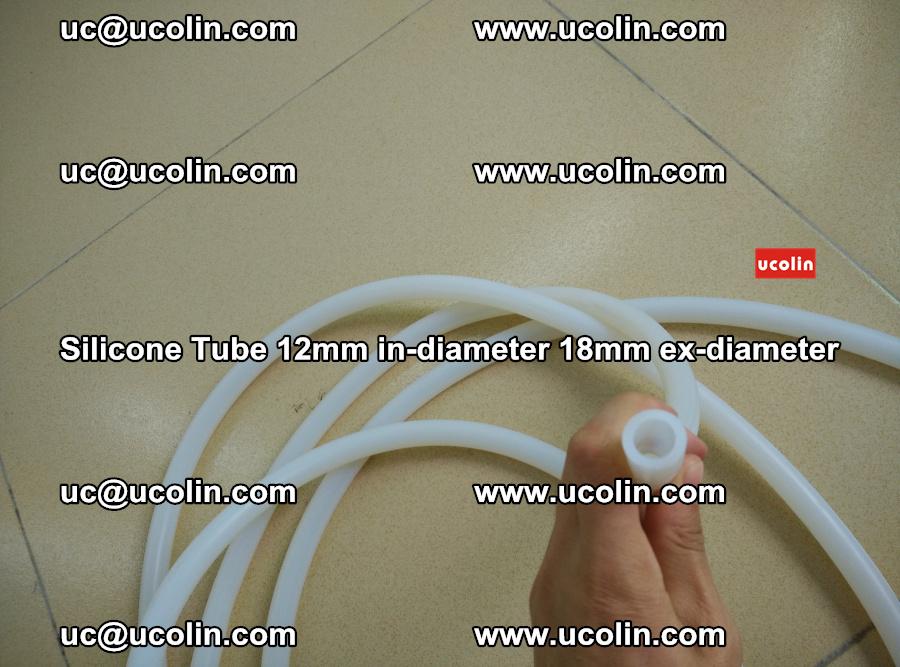 Silicone Tube for vacuuming EVA PVB SGP laminated glass glazing (47)