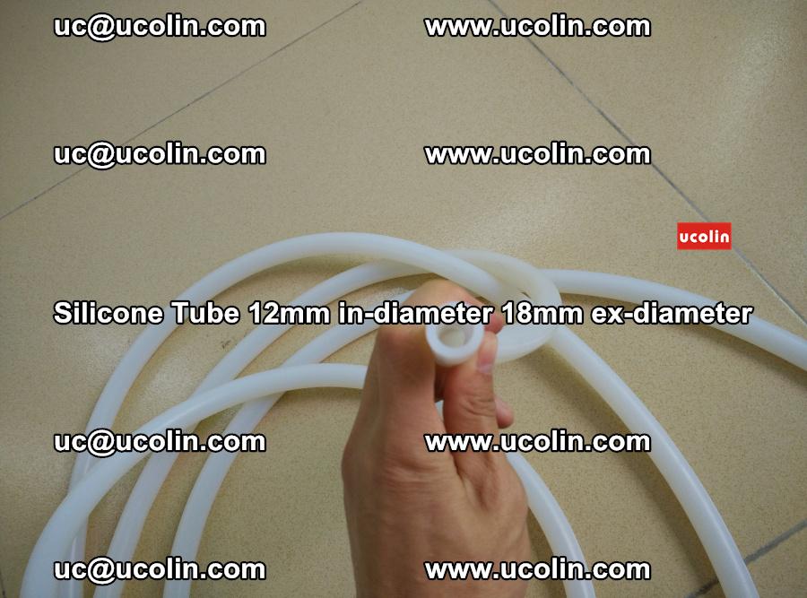 Silicone Tube for vacuuming EVA PVB SGP laminated glass glazing (49)