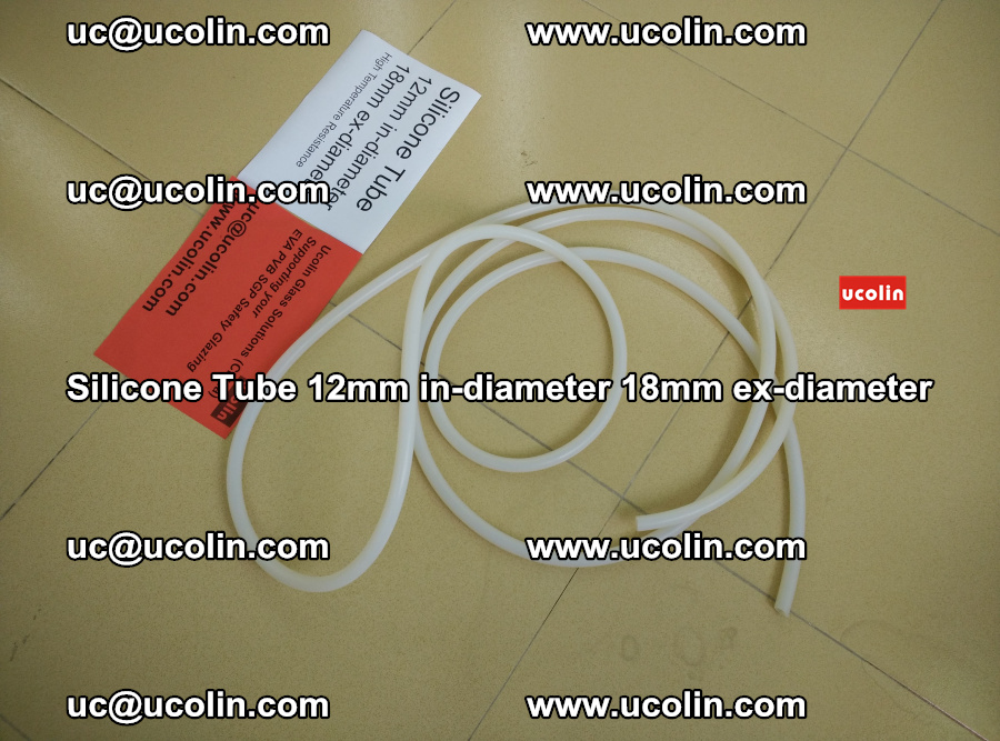Silicone Tube for vacuuming EVA PVB SGP laminated glass glazing (8)