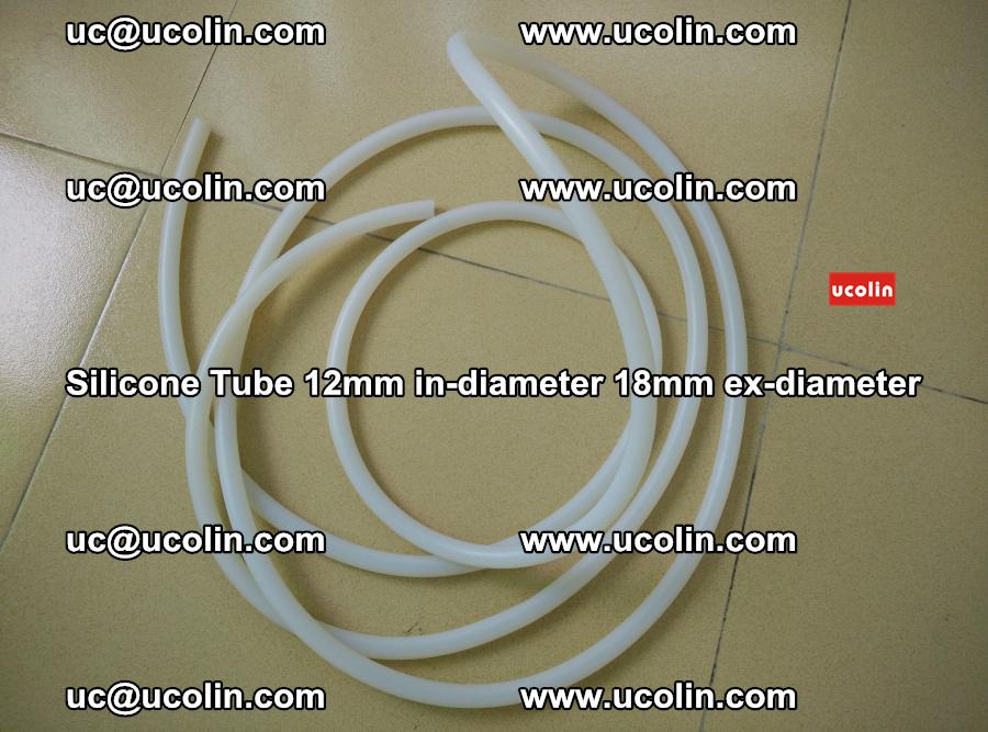 Silicone Tube for vacuuming EVA PVB SGP laminated glass glazing (93)