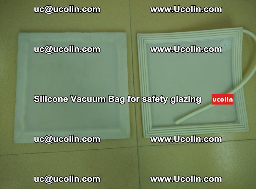 Silicone Vacuum Bag sample for safety glazing EVA PVB (103)