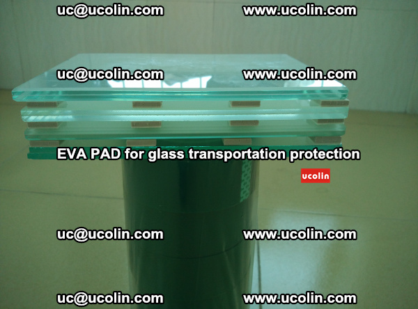 EVA CORK PAD for laminated safety glass transportation protection (22)