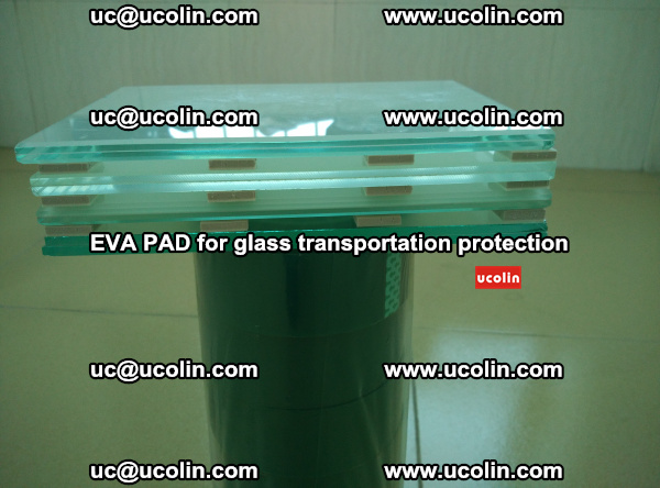 EVA CORK PAD for laminated safety glass transportation protection (24)