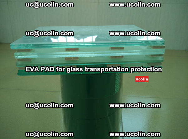 EVA CORK PAD for laminated safety glass transportation protection (25)