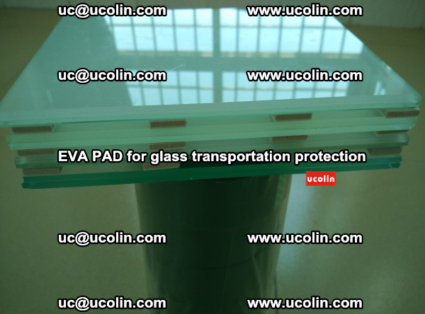 EVA CORK PAD for laminated safety glass transportation protection (34)