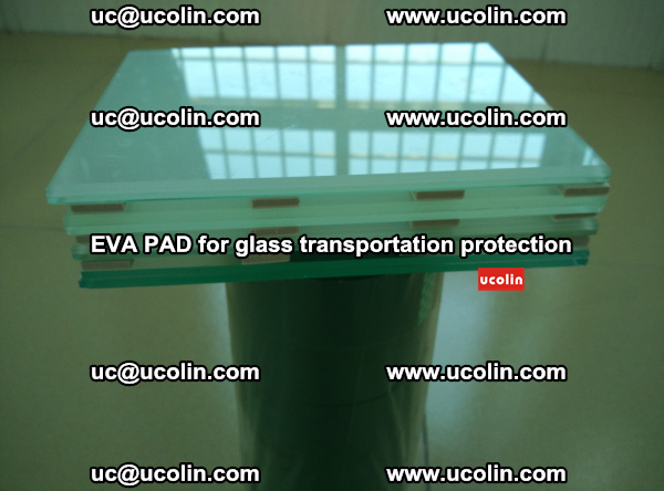 EVA CORK PAD for laminated safety glass transportation protection (38)