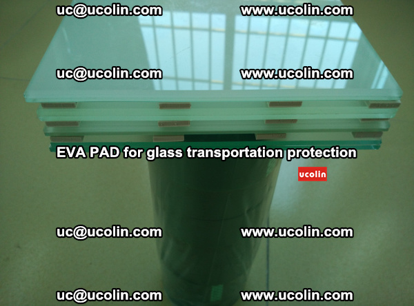 EVA CORK PAD for laminated safety glass transportation protection (4)