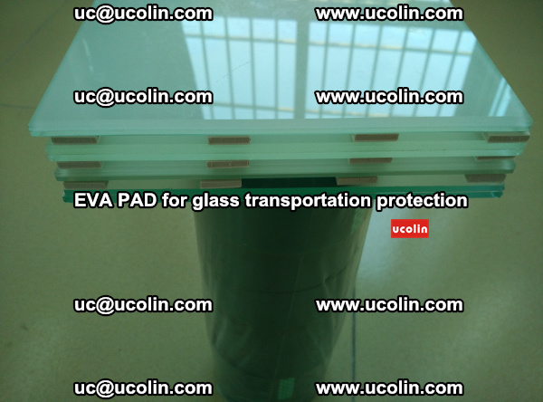 EVA CORK PAD for laminated safety glass transportation protection (5)