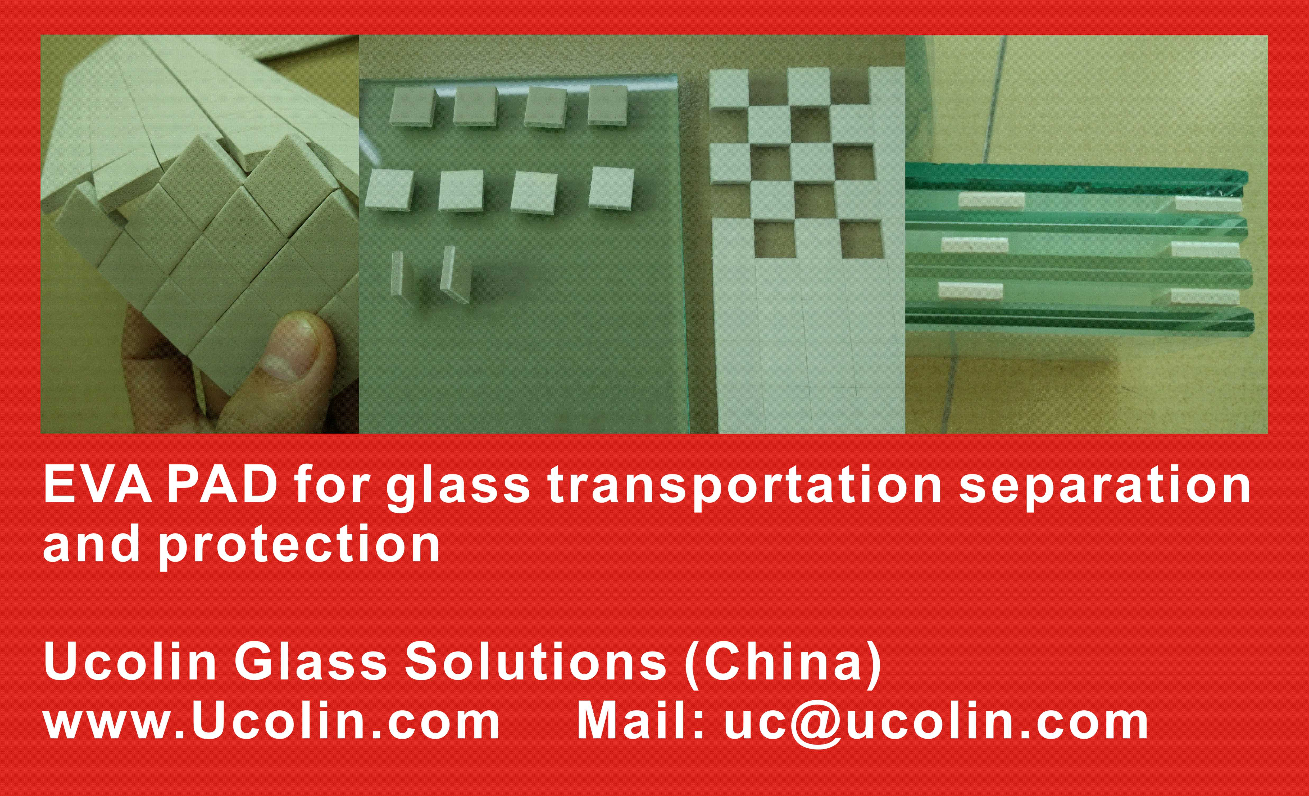 EVA PAD for glass transportation separation protection (1)