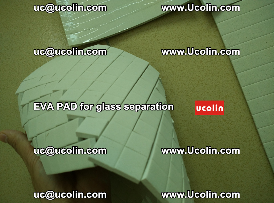 EVA PAD for safety laminated glass separation (26)