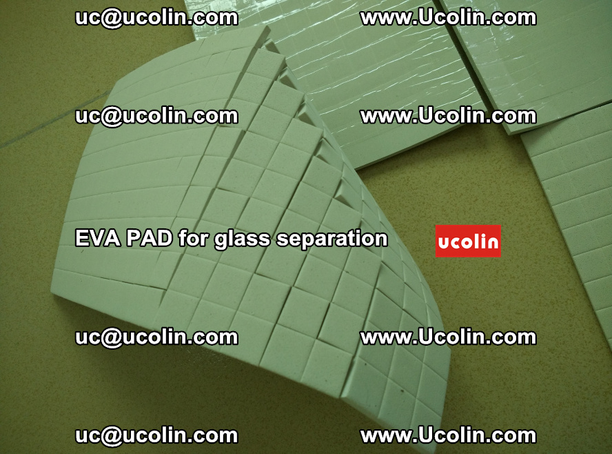 EVA PAD for safety laminated glass separation (30)