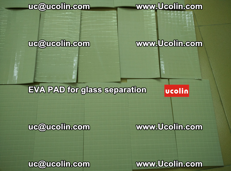 EVA PAD for safety laminated glass separation (56)