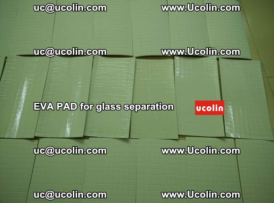 EVA PAD for safety laminated glass separation (57)