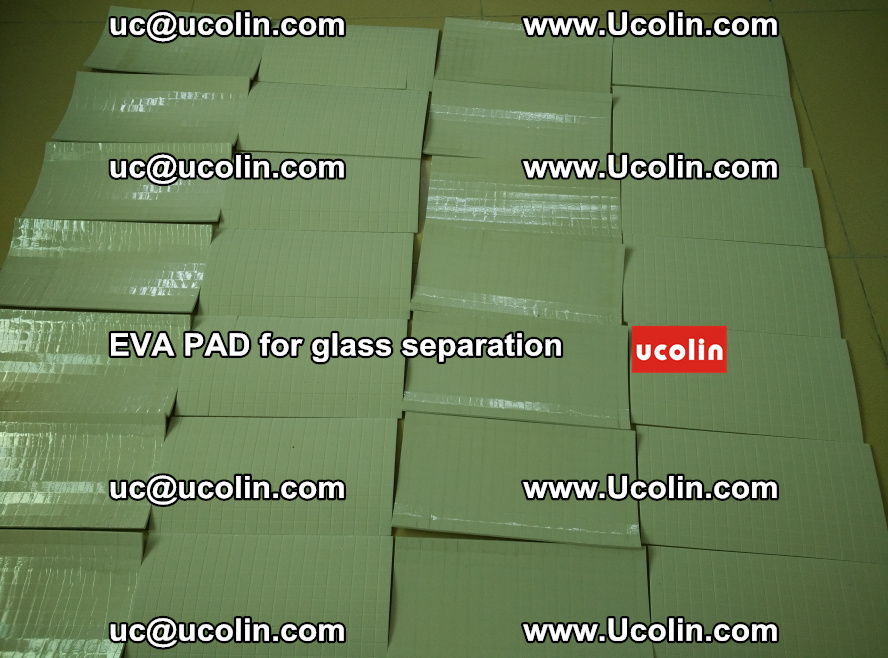 EVA PAD for safety laminated glass separation (75)