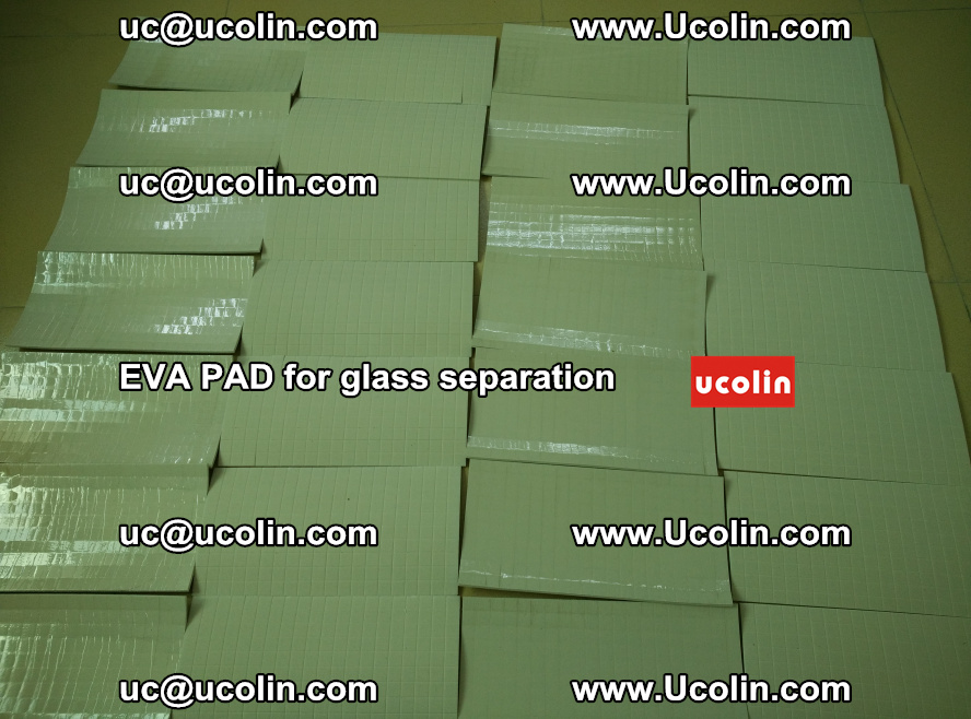 EVA PAD for safety laminated glass separation (76)