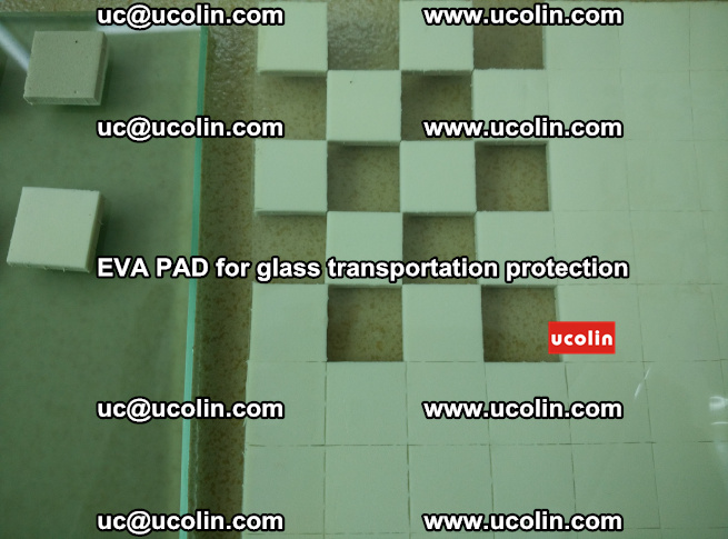 EVA PAD for safety laminated glass transportation protection (107)