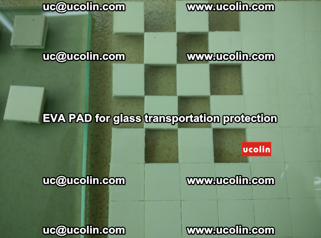 EVA PAD for safety laminated glass transportation protection (108)