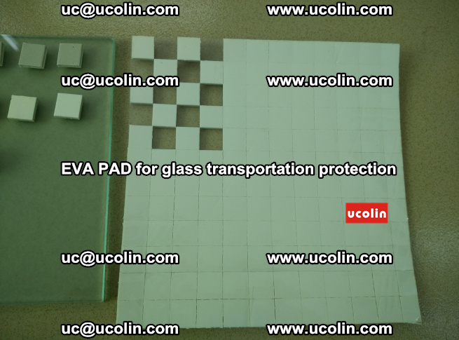 EVA PAD for safety laminated glass transportation protection (117)