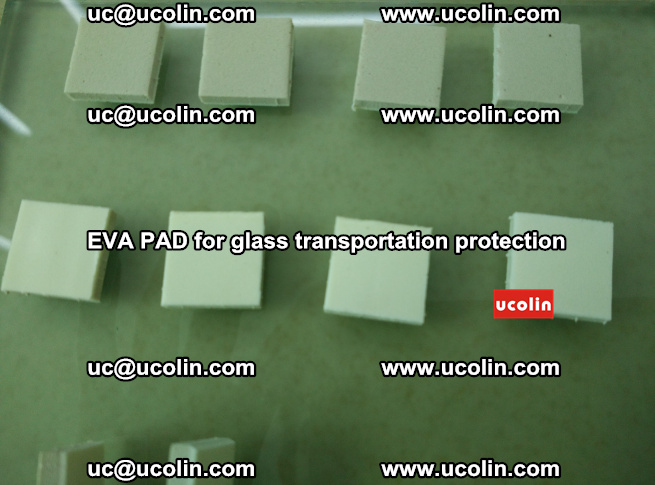 EVA PAD for safety laminated glass transportation protection (54)
