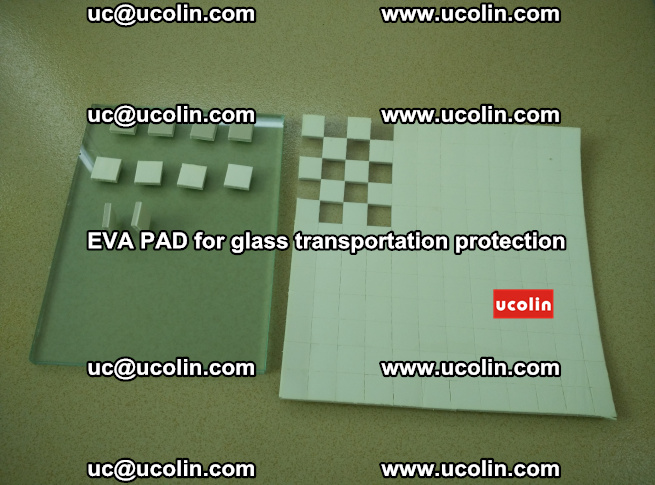EVA PAD for safety laminated glass transportation protection (7)