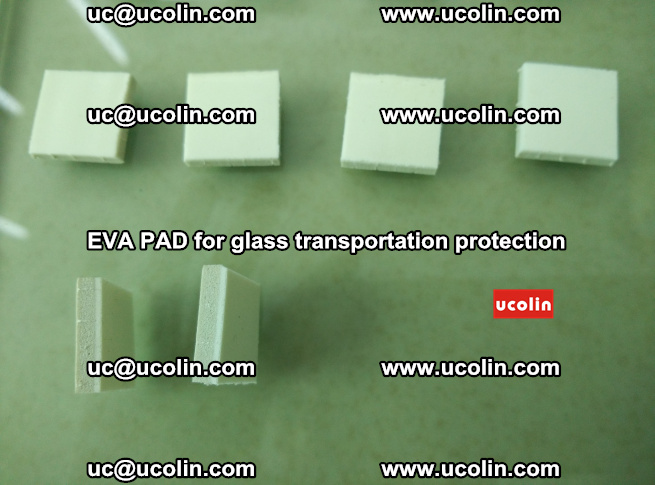 EVA PAD for safety laminated glass transportation protection (75)
