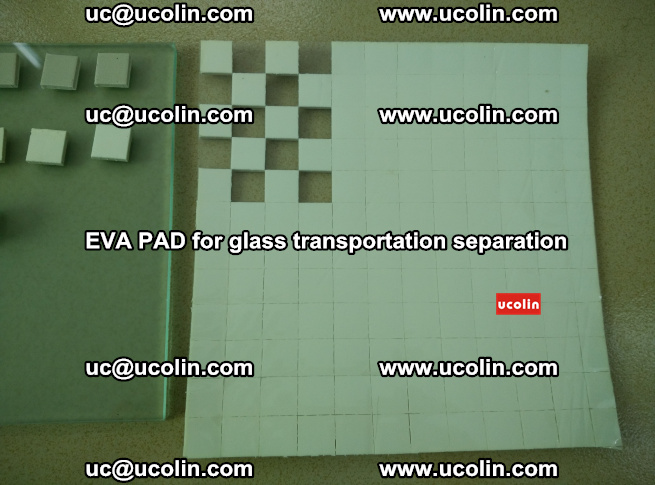 EVA PAD for safety laminated glass transportation separation (13)