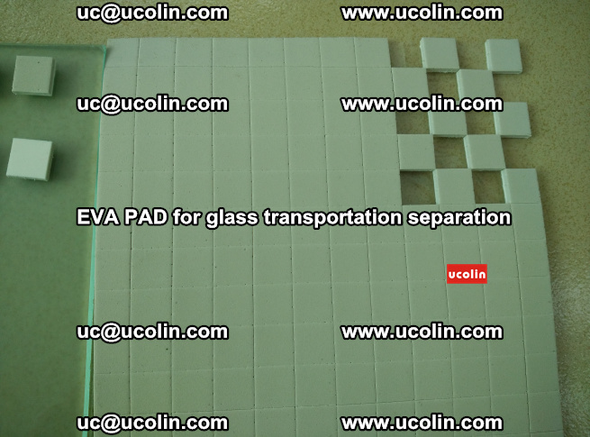 EVA PAD for safety laminated glass transportation separation (24)