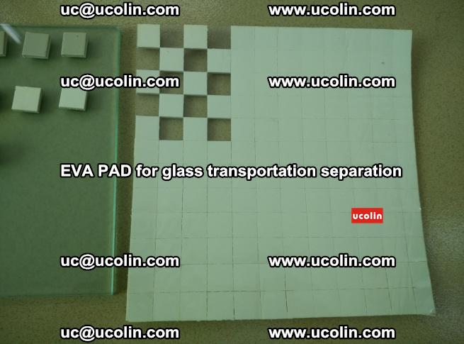 EVA PAD for safety laminated glass transportation separation (5)