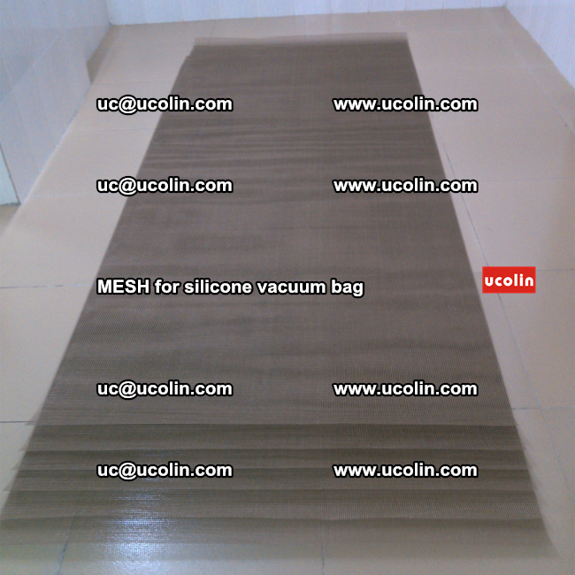 MESH for silicone vacuum bag in laminated safety glazing (2)