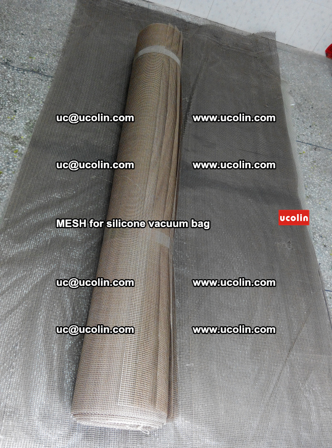 MESH for silicone vacuum bag in laminated safety glazing (28)