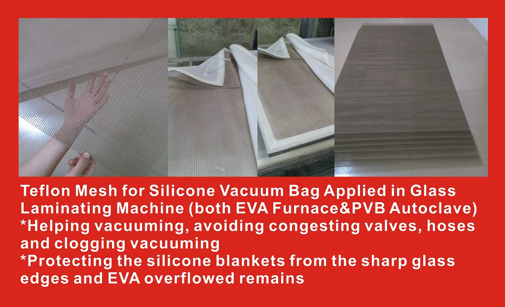 Teflon Mesh for silicone vacuum bag