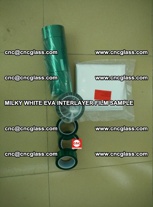 EVA FILM SAMPLE, MILKY WHITE, FOR SAFETY GLAZING, EVAVISION (23)