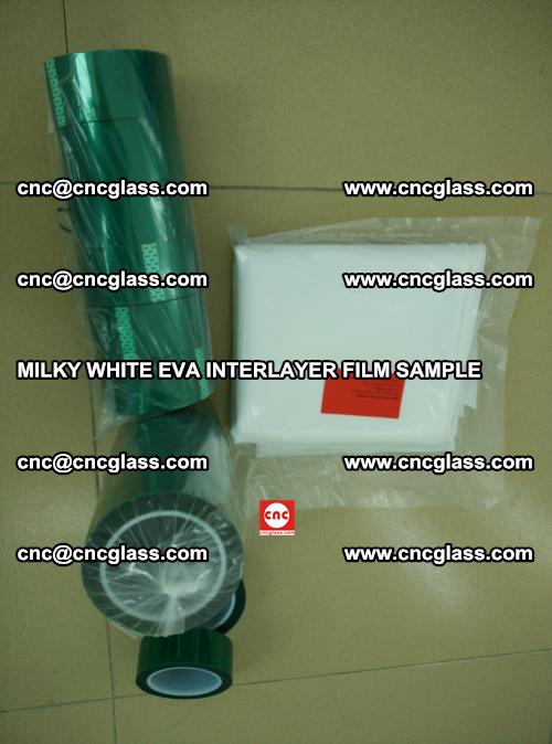 EVA FILM SAMPLE, MILKY WHITE, FOR SAFETY GLAZING, EVAVISION (34)