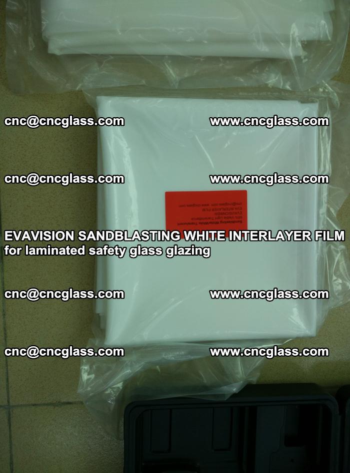 EVAVISION SANDBLASTING WHITE INTERLAYER FILM for laminated safety glass glazing (13)