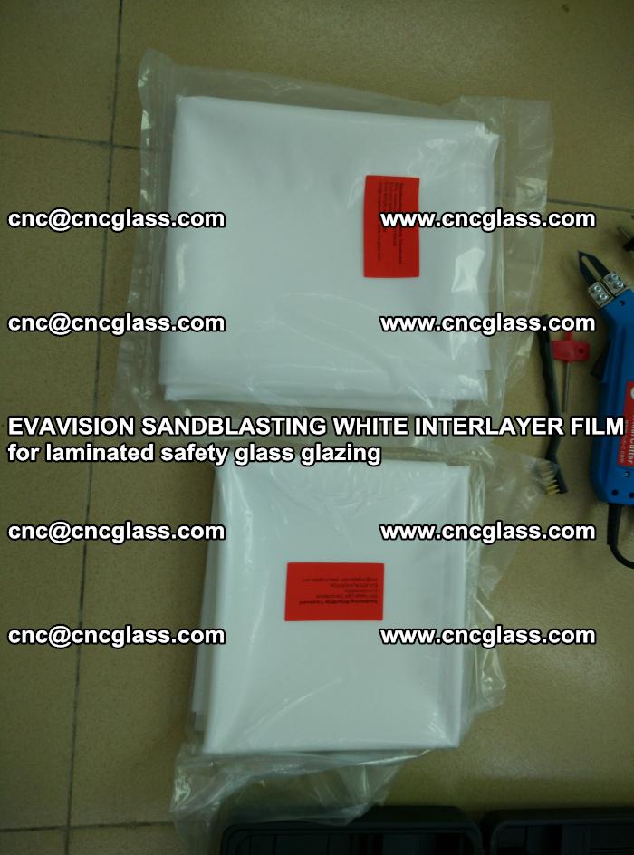 EVAVISION SANDBLASTING WHITE INTERLAYER FILM for laminated safety glass glazing (23)