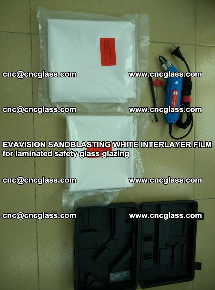 EVAVISION SANDBLASTING WHITE INTERLAYER FILM for laminated safety glass glazing (44)