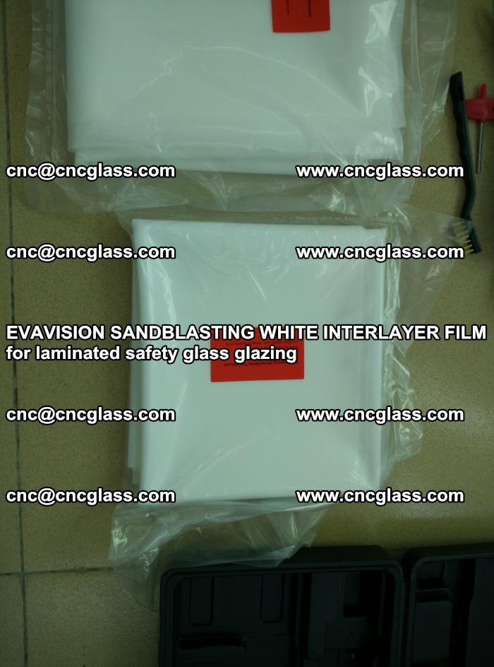 EVAVISION SANDBLASTING WHITE INTERLAYER FILM for laminated safety glass glazing (9)