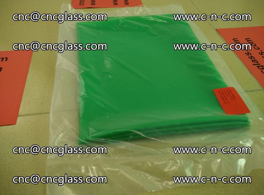 EVA glass interlayer film transparent color LIGHT green (4)