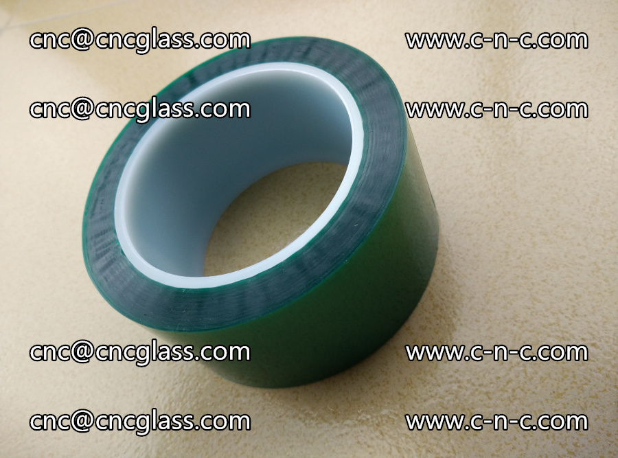 PET GREEN TAPE for laminated glass safety glazing (11)