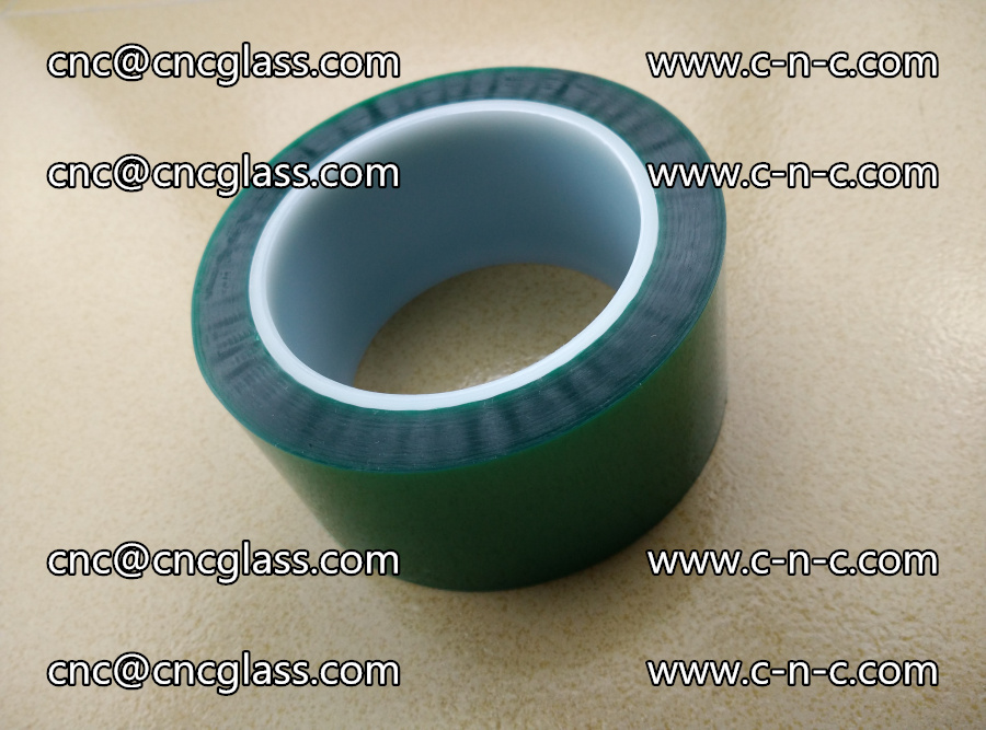 PET GREEN TAPE for laminated glass safety glazing (13)