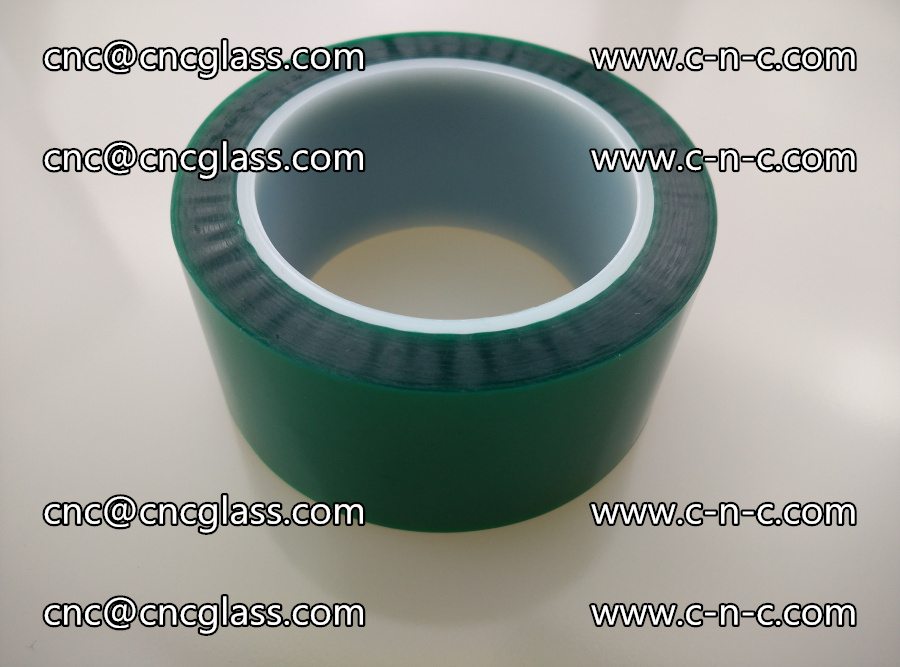 PET GREEN TAPE for laminated glass safety glazing (2)