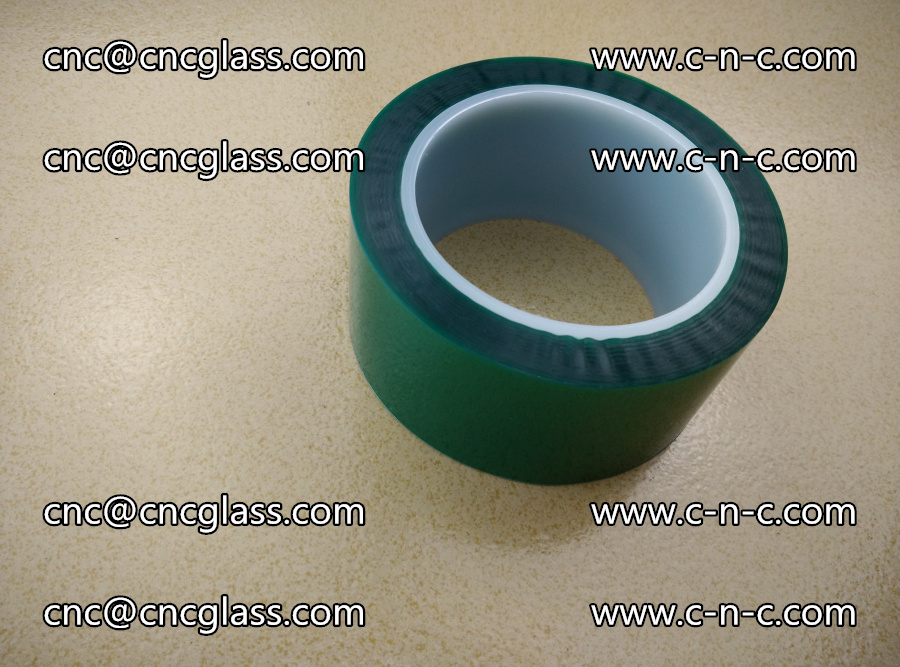 PET GREEN TAPE for laminated glass safety glazing (20)