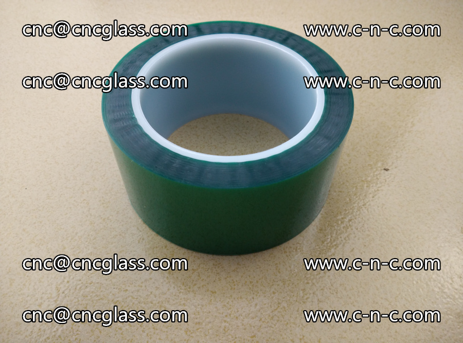 PET GREEN TAPE for laminated glass safety glazing (22)