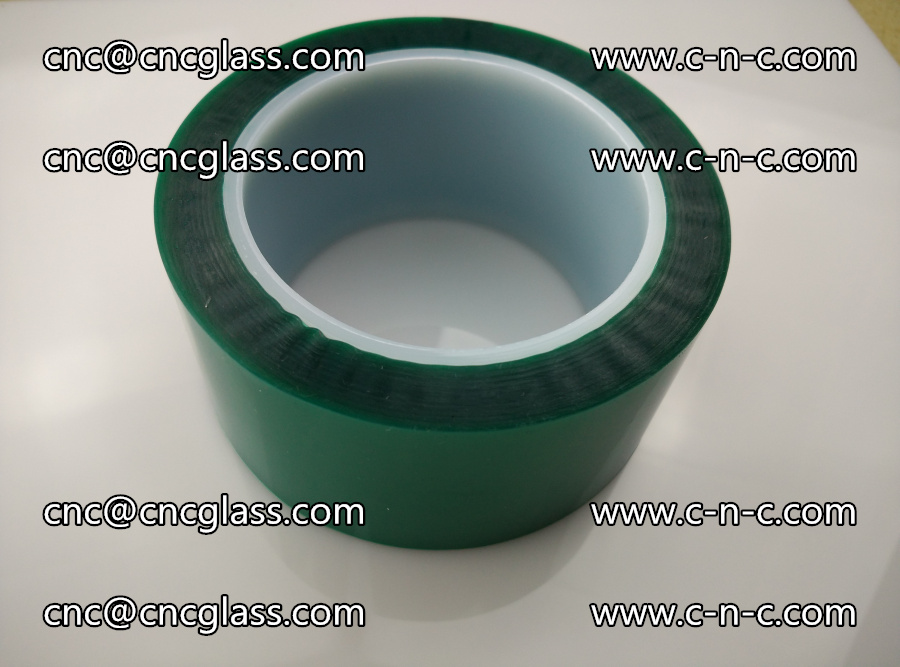 PET GREEN TAPE for laminated glass safety glazing (24)