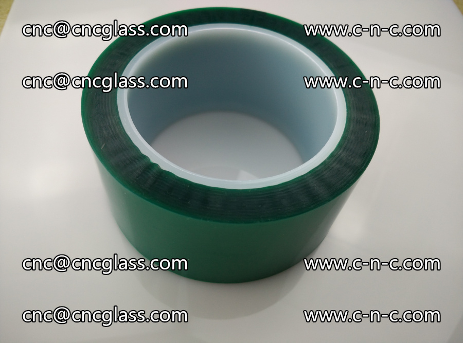 PET GREEN TAPE for laminated glass safety glazing (26)