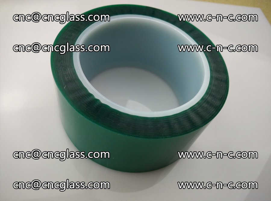 PET GREEN TAPE for laminated glass safety glazing (29)