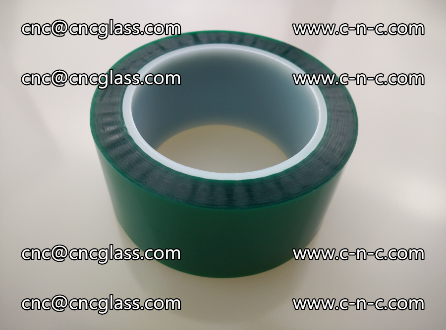 PET GREEN TAPE for laminated glass safety glazing (3)